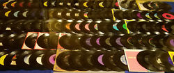 Huge 45rpm Record 187 Pc Lot 1950s-70s Rock-country-elvis Instant Collection