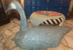 Large 22 Inches Long Antique Carved Wooden Duck Decoy