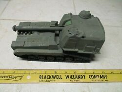 Vtg Mpc Ideal Processed Plastics Howitzer Self Propelled Tank Army Men Vehicle