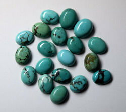 Lot Natural Tibetan Turquoise 3x5 Mm To 18x25 Mm Oval Cabochon Loose Gemstone