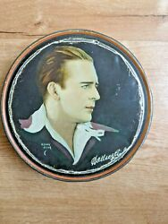 Rare Canco Beautebox Wallace Reid By Henry Clive 1920s Tin