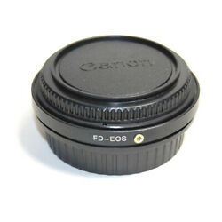 Adapter For Canon Fd Lens To Eos Ef Mount Dslr Fd Ef Adapter With Glass