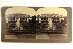 Germany Frankfort Palm Garden 1894 Photo Stereo Vintage