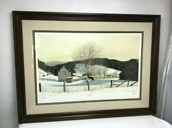 Bob Timberlake Near Grandfather Signed, Numbered And Custom Framed 39 W X 29 T