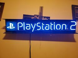 Sony Playstation 2 Neon Vintage Store Display Sign
