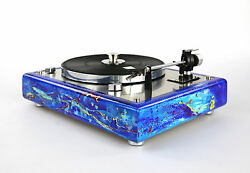 Restaurierter Thorens Td 165 Turntable With Artists-chime