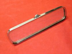 Original 1940's 1950's Chevrolet Guide Glare-proof Ribbed Rear View Mirror Truck