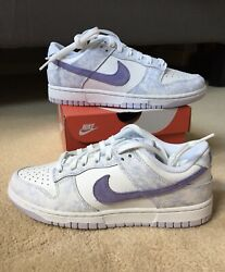 Nike Dunk Low Purple Pulse Size 7.5w/6m And 9w/7.5m