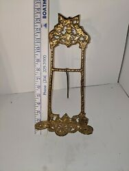 Vintage Solid Brass Tri-legged Easel Picture/ Book/ Sheet Music Stand Large Euc