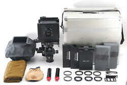 【 Almost Mint 】 Sinar P2 W/ Fujinon Cm 250mm F6.3, Tube, Hood And More Set