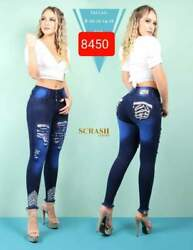 Jeans Colombianos Sc8450 Authentic Colombian Push Up Jeans Jean Levanta Cola