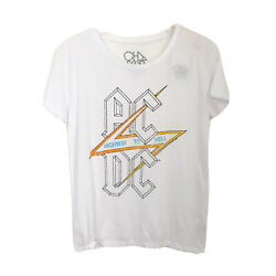 Chaser Acdc Graphic Tee Highway Sz Small Nwt