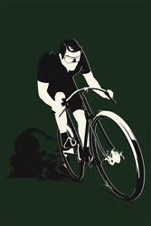 Bicycle Vintage Cycles Gladiator French Wall Art Home Decor POSTER 24x36