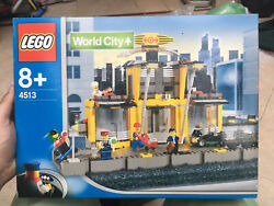 Lego 4513 World City - Trains Grand Central Station - Brand New And Sealed