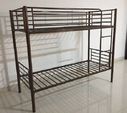Lot of Brand New Metal Twin Bunk Beds with Ladders and Railings Dorm Furniture