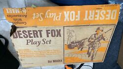 Desert Fox Playset By Marx An Unassembled Toy.