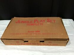 Jungle Playset By Louis Marx And Co. Inc., Series-500