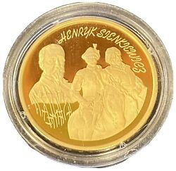 1996 Henry Sienkiewicz Proof Coin 200 Zl Starting At 2125.00