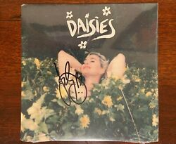Katy Perry Daisies Limited Edition 7 Vinyl Single Signed Autographed Sealed New