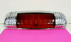 1946-48 Desoto Center Stop Brake Light Ornament Glass Lens Hot Rat Rod 30and039s 40and039s