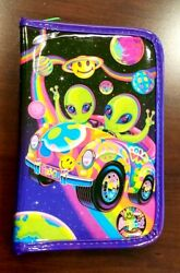 Lisa Frank Zoomer And Zorbit Aliens Zipper Pouch, Stamp, Stickers, Stationery, Pen