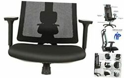 Ergonomic Office Chair, High-back Mesh Computer Desk Chairs With Black