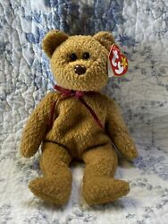 Curly Retired Ty Beanie Baby Rare 1996 Multiple Errors Mint Condition