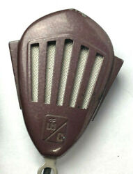 Webster Chicago - Mm35 Crystal Microphone - Circa 1935-1945 Vnt Retro