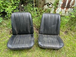 1967 67 Chevelle Ss Pontiac Gto Olds 442 Buick Gs Strato Bucket Seats Oem