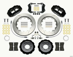 Wilwood Narrow Superlite 6r Front Hat Kit 14.00in 2013-up For Ford Focus St W/ L