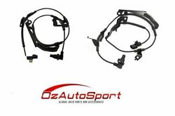 2 X Front Abs Wheel Speed Sensors For Mitsubishi Challenger Kh4w 6/2011 - 2015