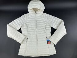 Columbia Womenand039s White Out Ii Omni Heat Full Zip Hooded Winter Jacket Size M