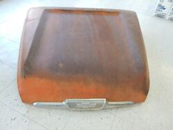 Oem 58-59 Chevrolet Apache 100-500 Truck Hood With Badge Shipping Available