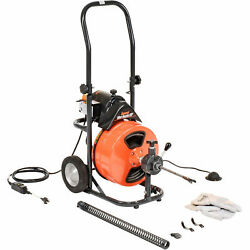 General Wire Mini-rooter Xp Drain/sewer Cleaning Machine W/ 75and039 X 1/2cable And 4