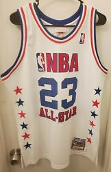 Mitchell And Ness Authentic 2003 Michael Jordan Wizards All Star Game Jersey 44 L