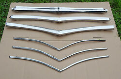 1946 1947 1948 Plymouth Complete 18 Piece Grille 46 48 Grill Superb Condition