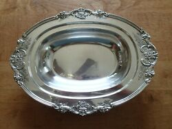 Reed And Barton Sterling Silver Francis I 571a Serving Dish Bowl