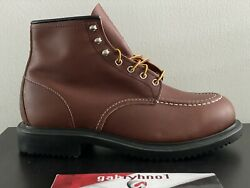 Red Wing 8249 Supersole 6-inch Oil Resistance Boot E3 Menandrsquos Size 9 Work Boots