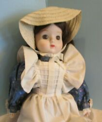 17 Schmid Doll House Porcelain Musical Collectible Doll Tomorrow