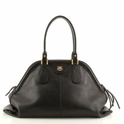 Rebelle Top Handle Bag Leather Large