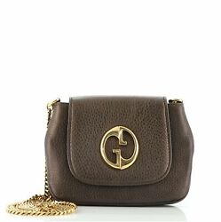 Gucci 1973 Chain Shoulder Bag Leather Small $715.50