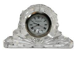 Waterford Crystal 4 Cottage Mantle Clock Small - Ireland