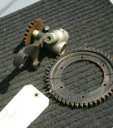 Durant Star Car Johns-manville Nos Speedometer Drive Gear And Bracket