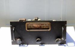 Antique Broadcast Tube Radio Receiver 1930and039s - 40and039s Raytheon Amplifier