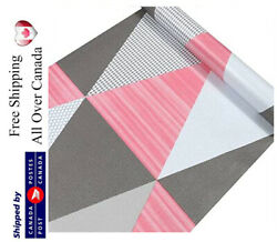 Pink Gray Wallpaper Peel And Stick Removable Contact Paper Selfadhesive Vinyl