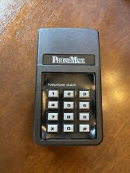 Telephone Vintage Dialer By Phone Mate Phonemate Touchtone Dialer