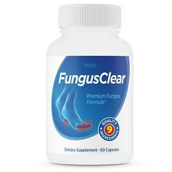 Fungus Clear Probiotic Supplement Pills - Fights Toe Fungus - 60 Capsules