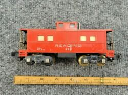Vintage American Flyer S Scale Caboose No. 630 Lighted