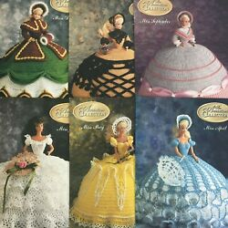 Annie's Calendar Bed Doll Society The Antebellum Crochet Patterns Collectors -6