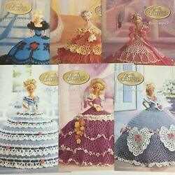 Annie's Calendar Bed Doll Society The Cotillion Crochet Patterns Collectors -6